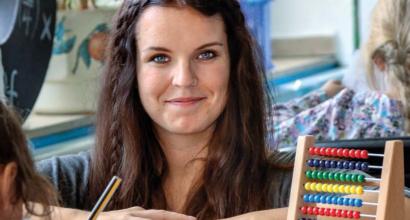 Helfen und Lernen - Zu Besuch bei Kira Wischnewski
