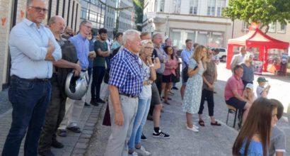 Veranstaltung zum Antikriegstag in Gelsenkirchen - DGB mahnt zu Frieden und Abrüstung