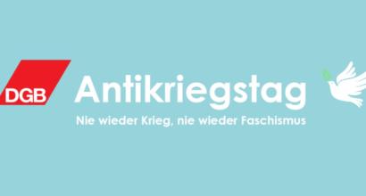 """Antikriegstag 2020: """"Nie wieder Krieg - Nie wieder Faschismus"""""""