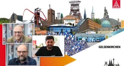 Personelle Veränderungen bei der IG Metall Gelsenkirchen