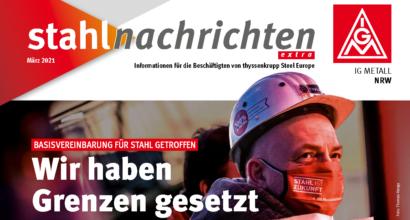 thyssenkrupp Steel Europe: Basisvereinbarung für Stahl getroffen