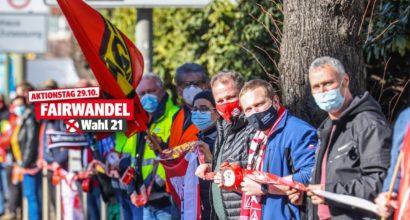 #FAIRWANDEL - Bundesweiter Aktionstag am 29.10.2021