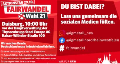 #Fairwandel - Lass uns zusammen die sozialen Medien füllen!